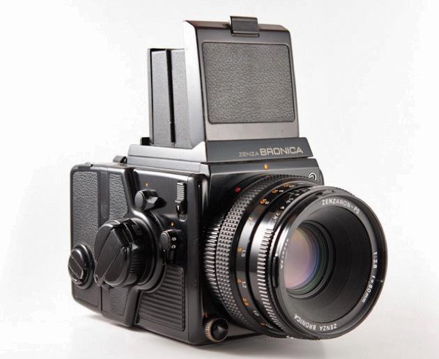 Bronica SQ-B camera