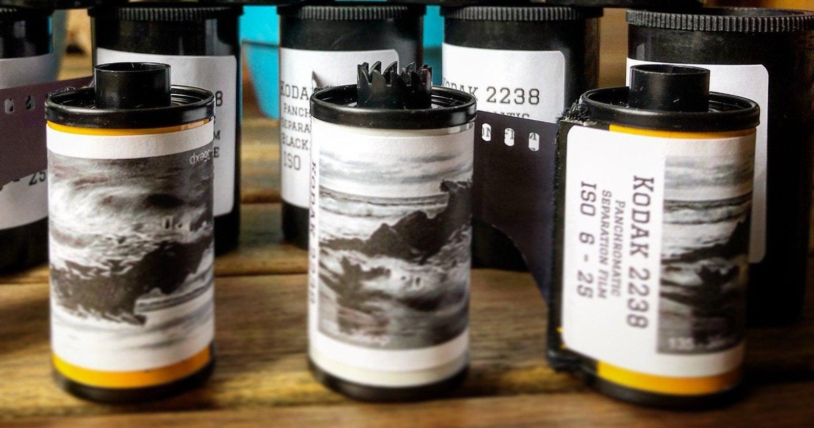 Kodak 2238 film rolls